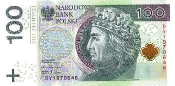 Польский злотый фото купюр рубль 1874 года цена
